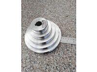 5 step motor v-belt pulley lathe, drill
