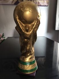3 x replica World Cup trophy