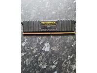 1 Corsair Vengeance LPX DDR4 8GB RAM Stick