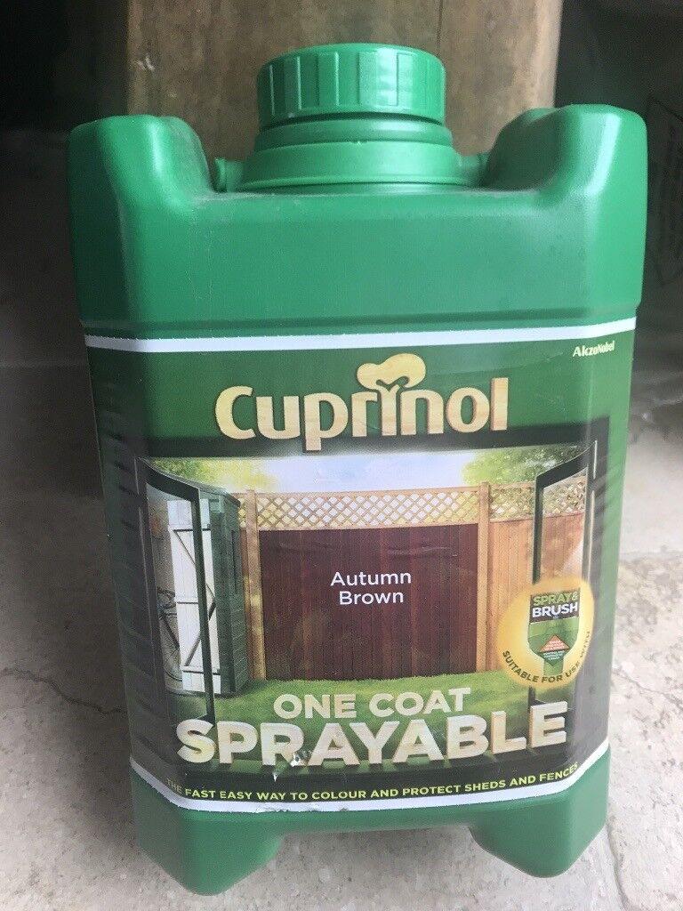 Cuprinol One Coat Fence Paint