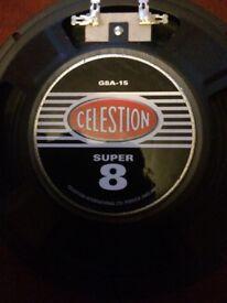 "Celestion 8"" speakers"