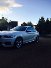 220d M Sport coupe immaculate