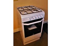 GAS COOKER , INDESIT 15GG, As new condition and hardly used, pick up a real bargain.