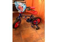 10 inch Spider-Man bike