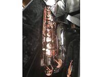 Beautiful saxophone