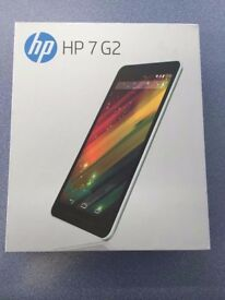 """HP 7"""" G2 TABLET BRAND NEW WITH RECEIPT"""