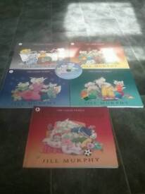 The Large Family set of books and CD Great conditon