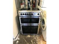 Hotpoint ceramic electric cooker 60 cm and width is 60 cm