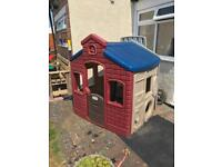 Little tikes town playhouse earth