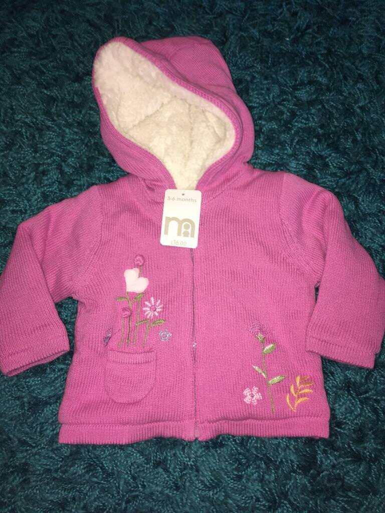 c9a7d42f602f Mothercare baby girl jacket 3-6 months BNWT