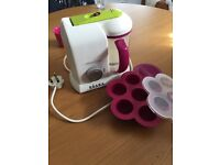 Beaba Babycook steamer and blender exellent cond