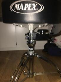 Mapex drum throne with adjustable backrest