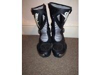 Oxtar Black Motorbike Boots - nearly new