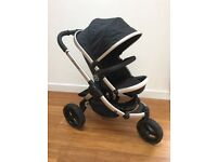 iCandy Peach jogger all terrain 3 wheel pram pushchair, great condition, excellent pram.