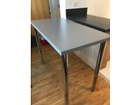 IKEA Desk Table 120x60cm with adjustable legs
