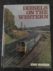 Train book. Diesels on the western