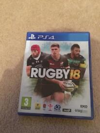 PS4 Rugby18