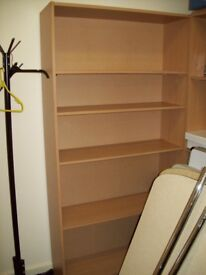 5ft 11 wooden book case
