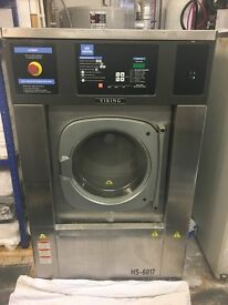 Girbau HS-6017 Washer Extractor, Commercial Laundry Machine