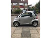 Smart car fortwo 2011 sliver