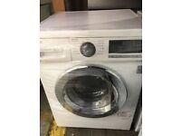 8KG LG CHROME DESIGN washing machine & dryer ,(4 months warranty)