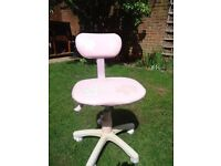 Pink 'office' chair