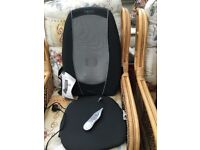 Homedics electric Shiatsu massager with heat chair