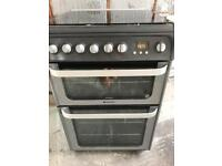 Free standing hotpoint cooker