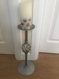 Modern candle and stand