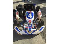 ROTAX MAX GO KART 125cc with trolley and spares