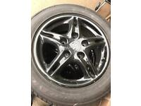 Porsche alloy wheels
