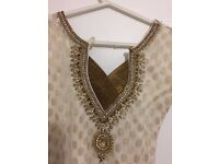 ** SUPER DEAL**Beautiful Traditional Indian Dress - £40 only - UK: 10-12