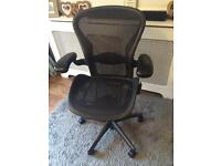 Herman Miller aeron chair (delivery available)