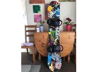 Snowboard tech nine true love