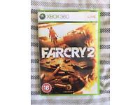 Farcry 2 Xbox 360 including physical game map