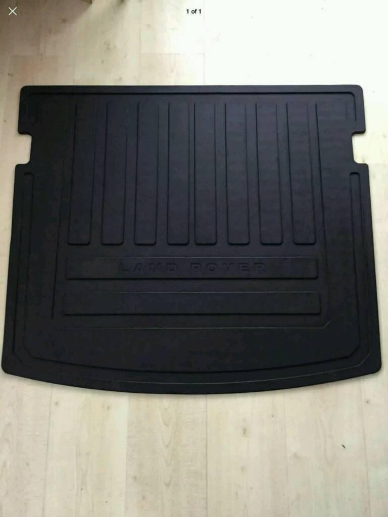 Landrover freelander 2 rubber boot mat