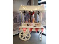 Candy Cart for Hire with Ferrero Rocher stand for only £50