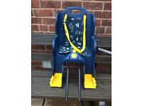 KIDS BIKE SEAT FOR SMALL CHILD BABY OR TODDLER
