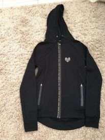 Women's black & gold pink soda tracksuit jacket