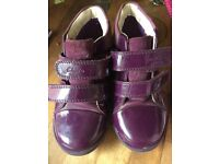 Girls clarks boots size 9G