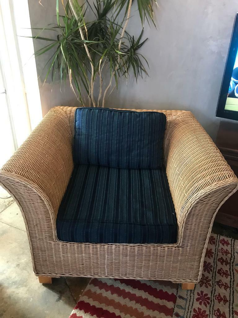 Wicker Arm Chairs
