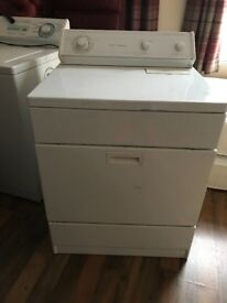 American whirlpool washing machine and matching dryer