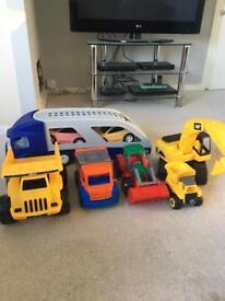 Toy Trucks Bundle