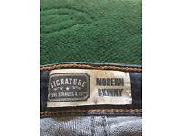 Three pairs of Ladies Denizen Jeans
