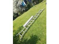 Abru Aluminium Combination Ladder.