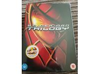 Spiderman trilogy dvd box set NEW