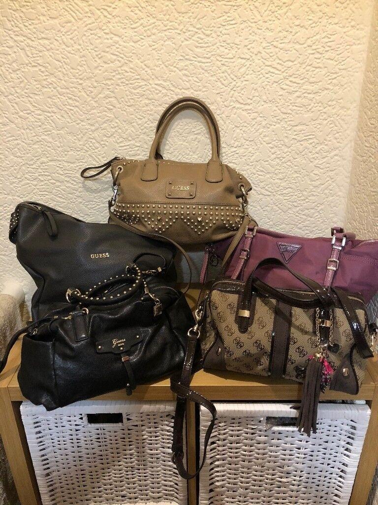 Handbag Heaven 5 Guess Handbags In 1 Great Bargain