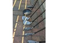 Selection of golf clubs (Donnay, Dunlop & Wilson) - REDUCED PRICE