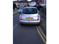 NISSAN MICRA 1.2 SE 5 DOOR HATCHBACK 2006 (55 REG) WITH TWO KEYS