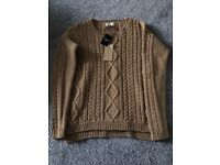 NEXT size twelve brand new- with labels in- never been worn- wool jumper